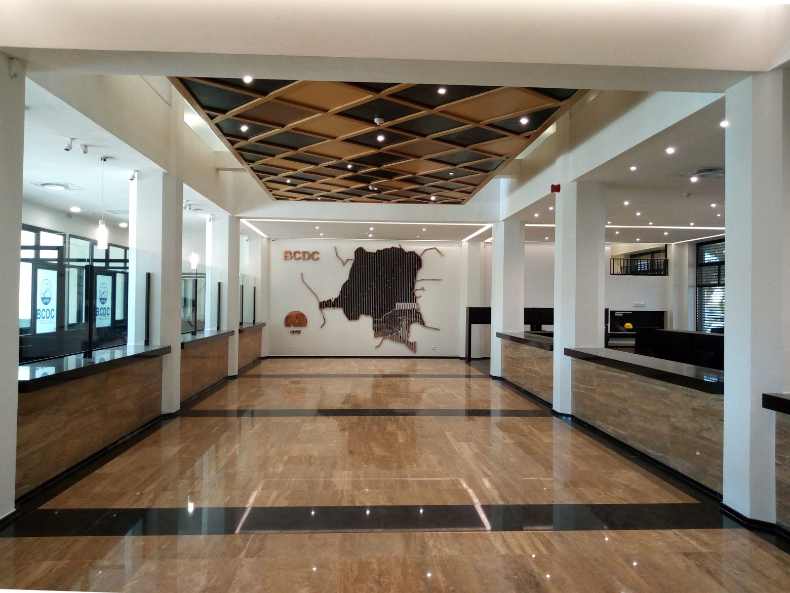 Rénovation de la banque BCDC par le Groupe Forrest
