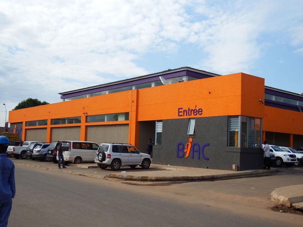 BIAC bank building in Lubumbashi