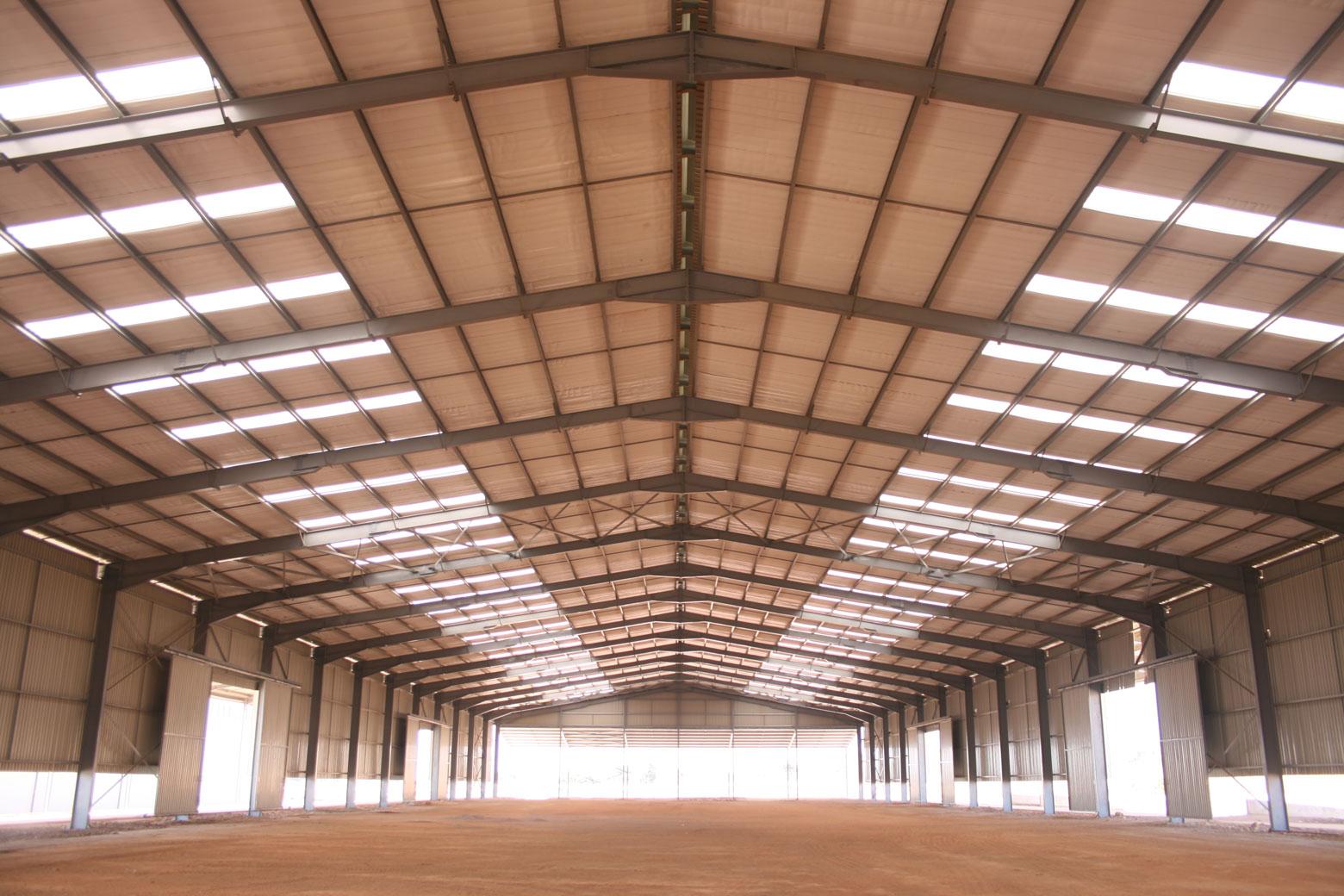 Hangar logistique