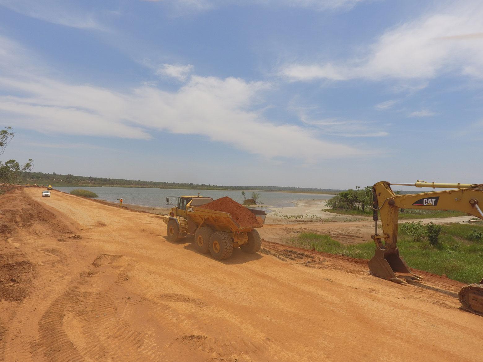 Entreprise de travaux publics en RDC
