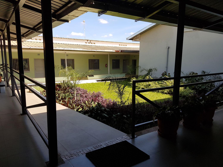 Patio du Centre Médical de la Communauté à Lubumbashi