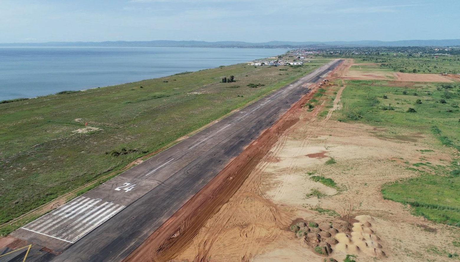 Piste atterrissage Kalemie RDC