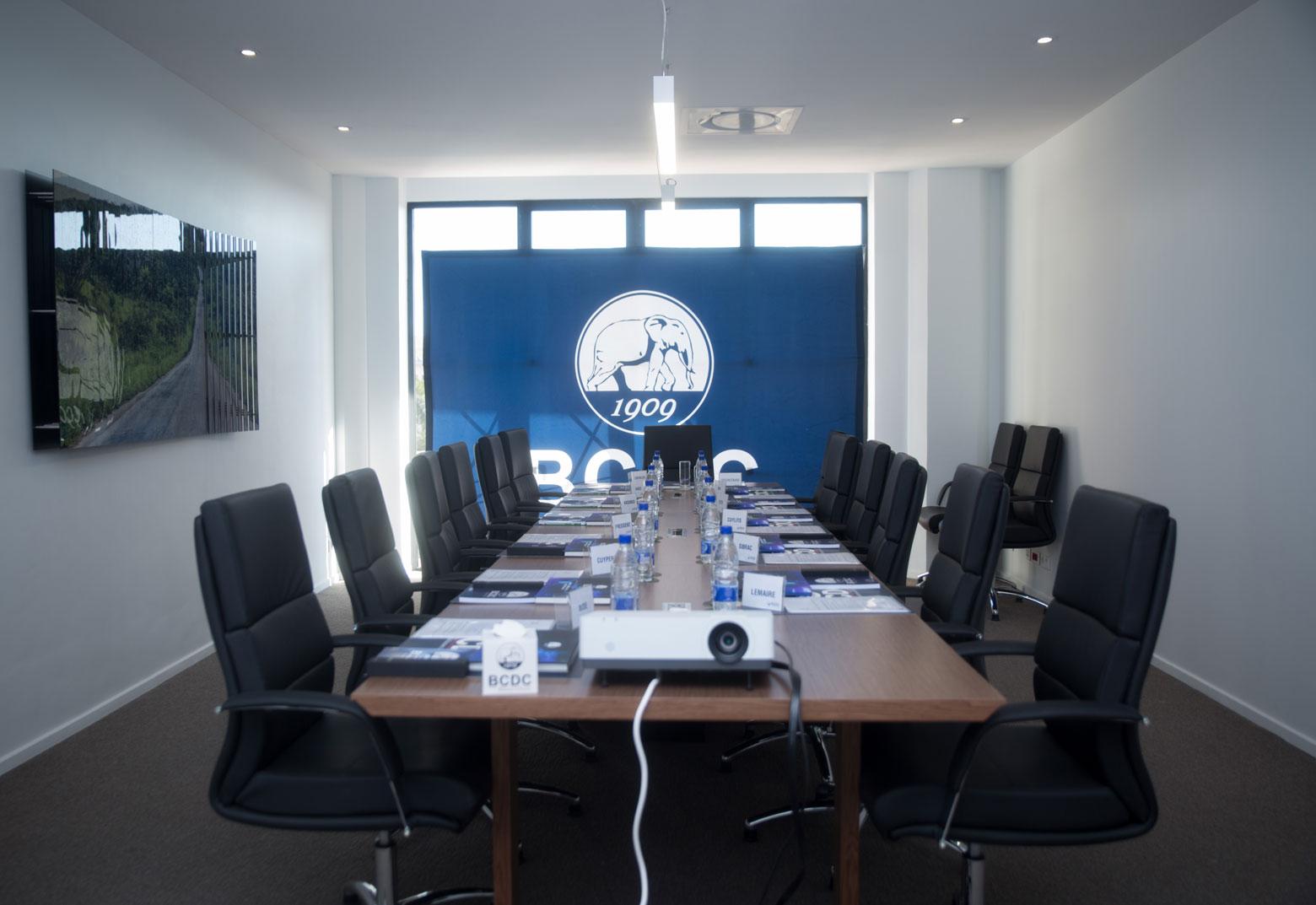 Sallle de réunion moderne BCDC