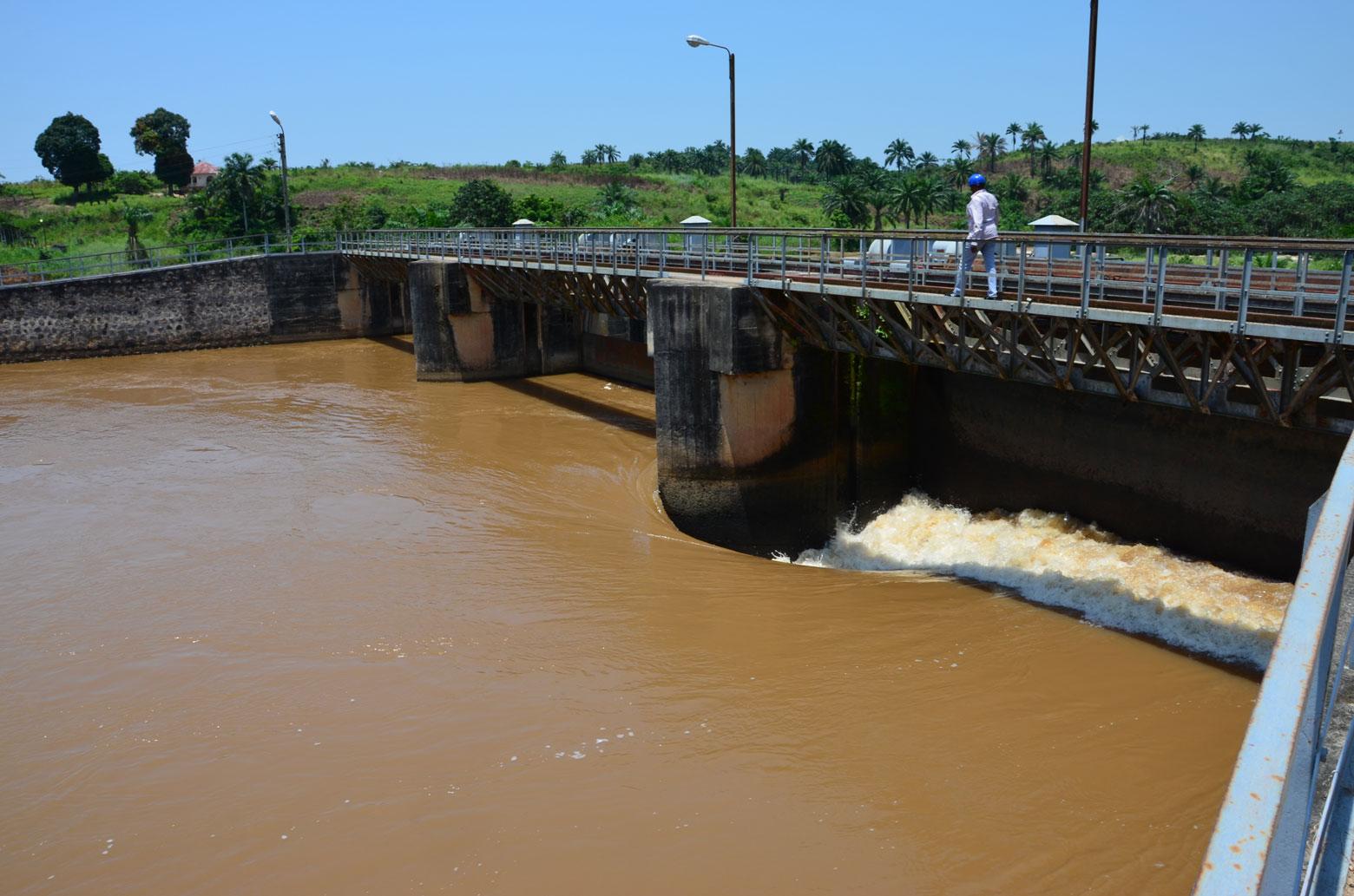 Barrage de Sanga en RDC
