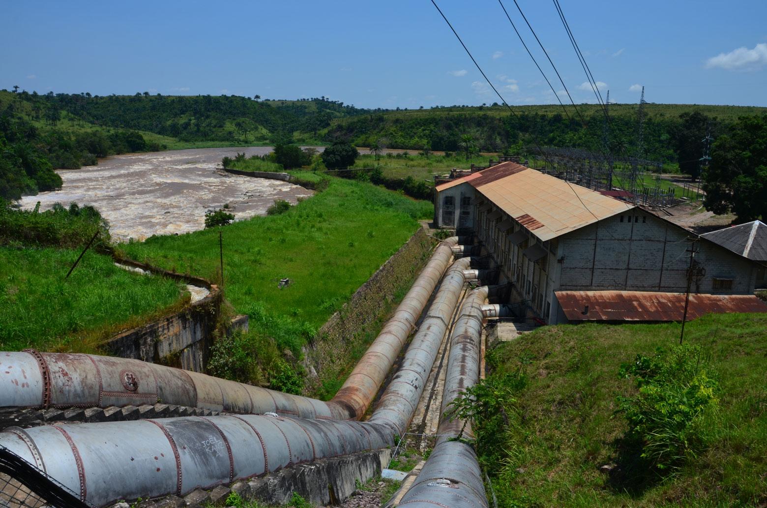 Centrale hydroélectrique de Sanga, République Démocratique du Congo