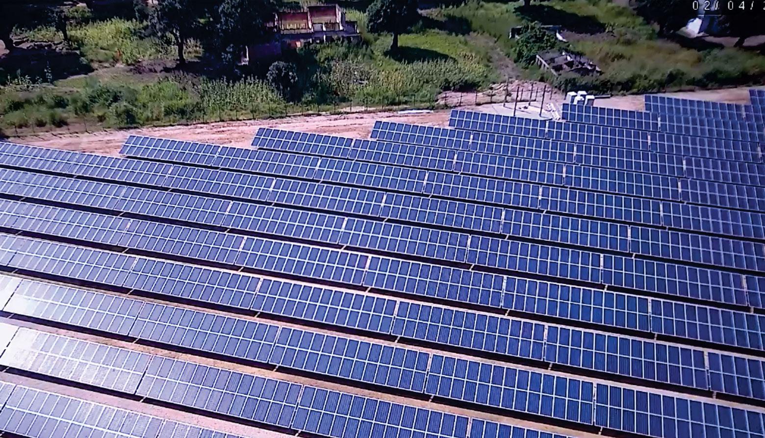 Centrale solaire de Manono - Réalisation Congo Energy