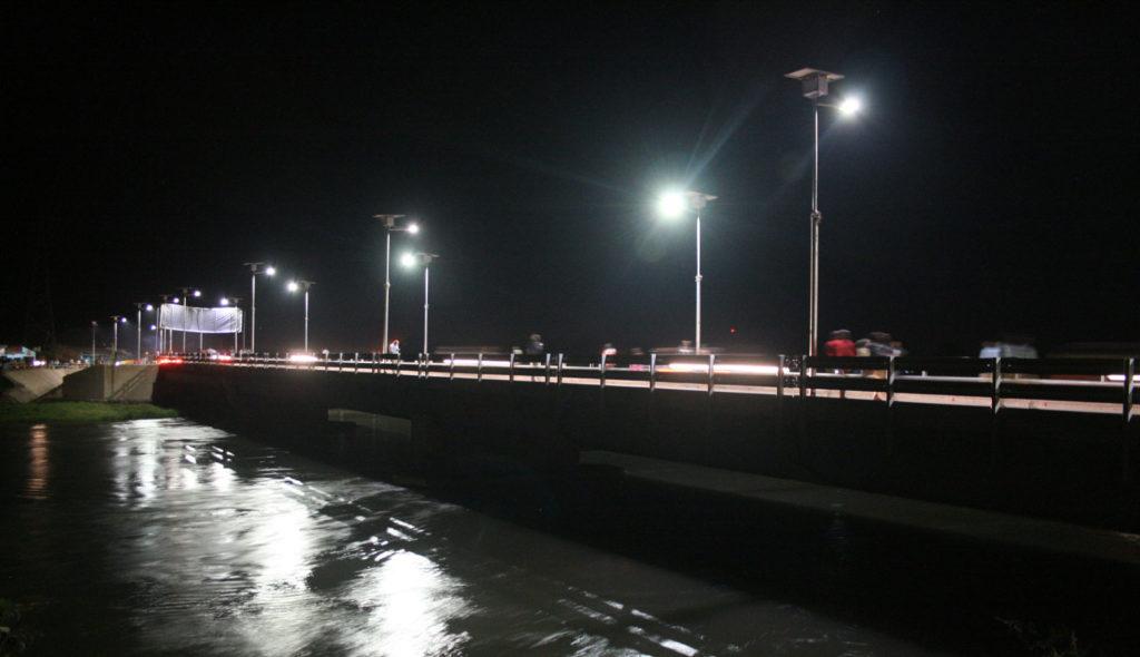 Eclairage Pont Lukuga, Kalemie
