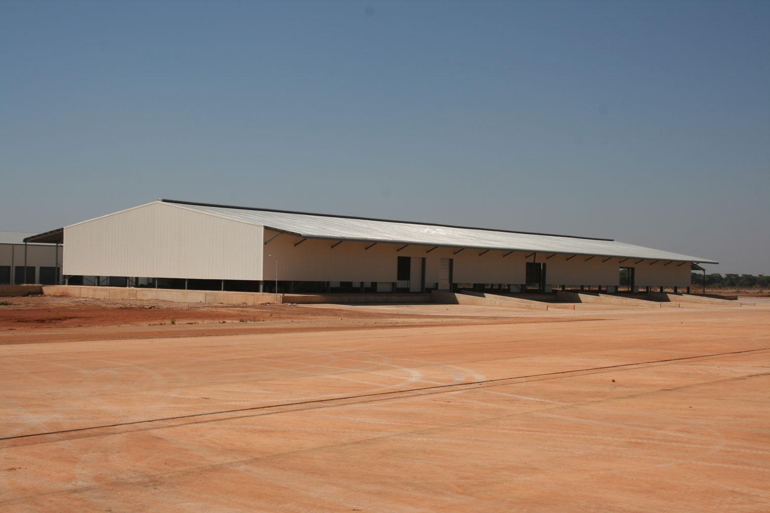 Plateforme logistique à Lubumbashi en RDC