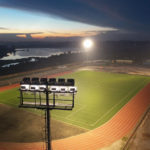 Specialised lighting for Diur stadium, Kolwezi, DRC