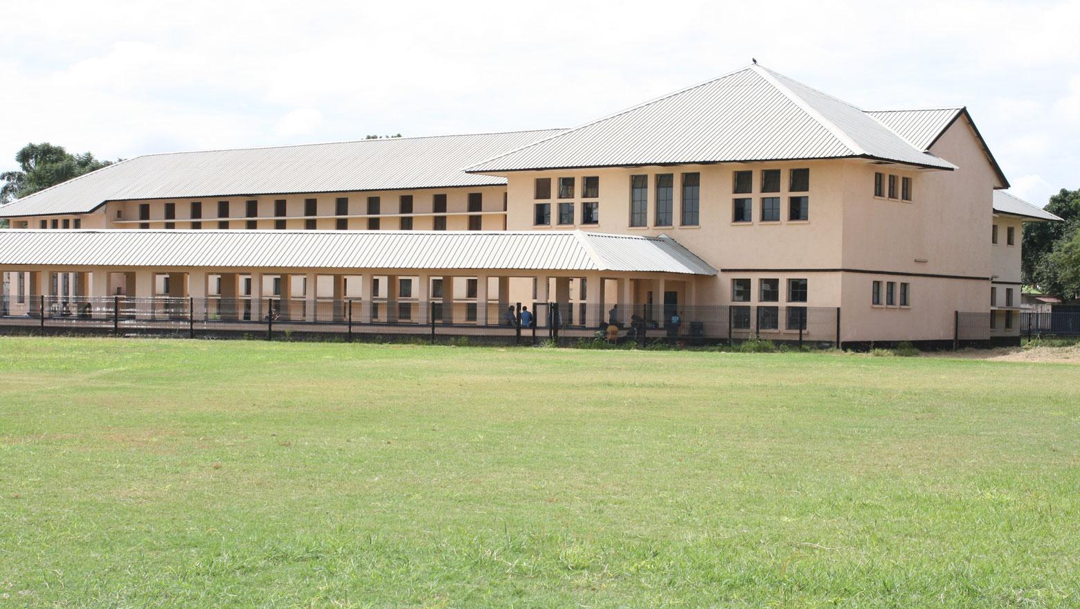 Batiments du Lycée Kiwele à Lubumbashi, RDC