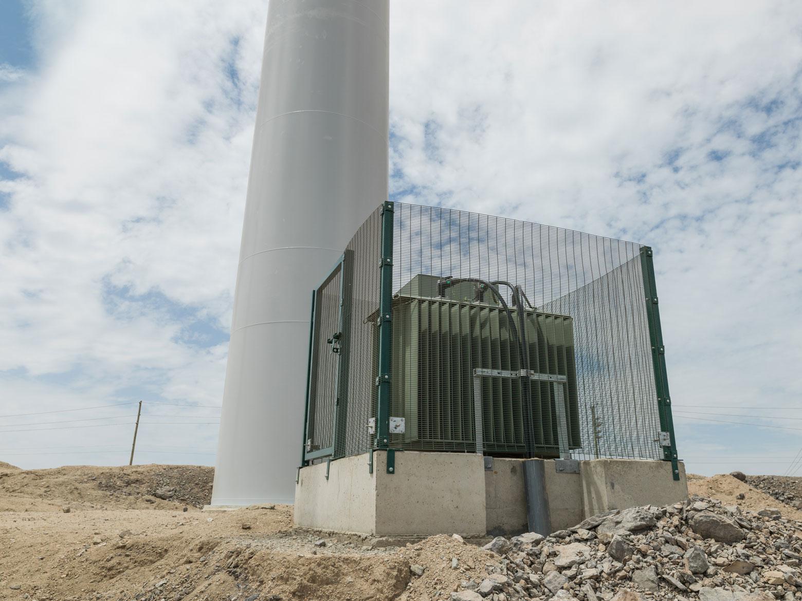 Transformateur éolienne