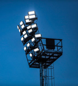 Eclairage de stade Omniblast
