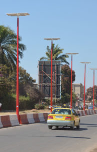 Intelligent solar lights in Lubumbashi, DR Congo