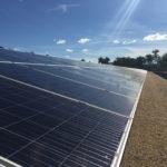 solar panel in Manono