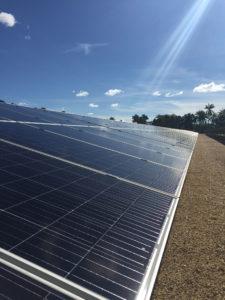 Panneau solaire - Manono, RDC