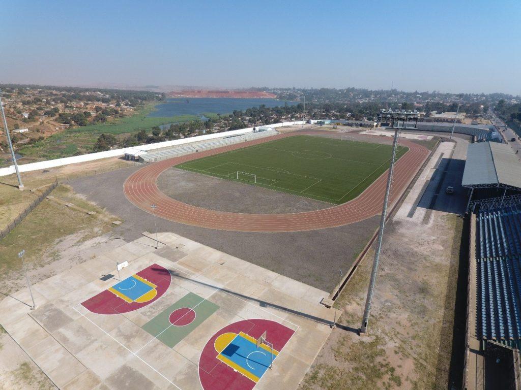 Le stade Diur à Kolwezi après rénovation