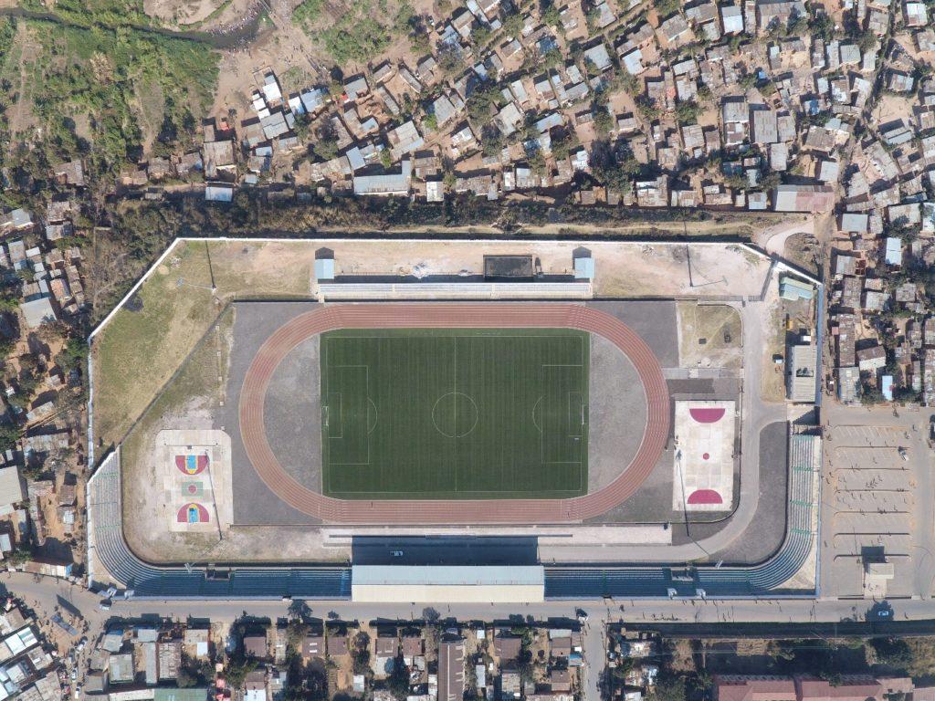 Diur stadium in Kolwezi, 2019