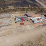 Construction de batiments sur le site du centre de négoce de Kolwezi, RD Congo