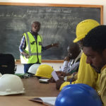 Health and safety training in Lubumbashi, DR Congo.