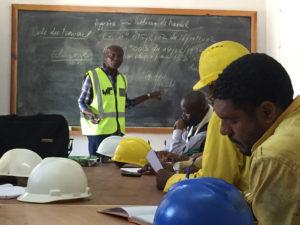 Formation en hygiène et sécurité à Lubumbashi, RD Congo.
