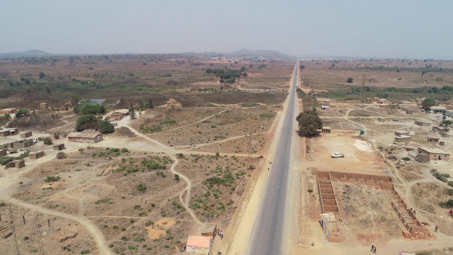 La route de Likasi à Kambove en RD Congo
