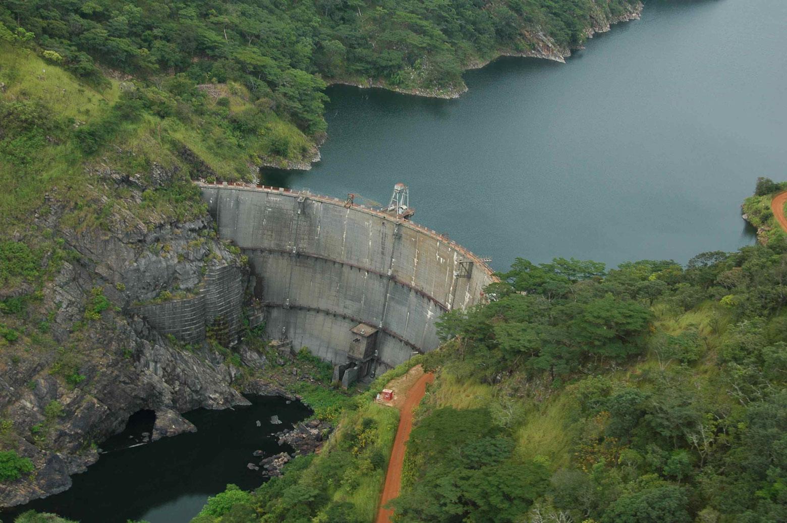 Centrale hydroélectrique de Nzilo en RD Congo