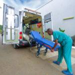 Ambulance du service d'urgence du CMC, Lubumbashi, RD Congo.