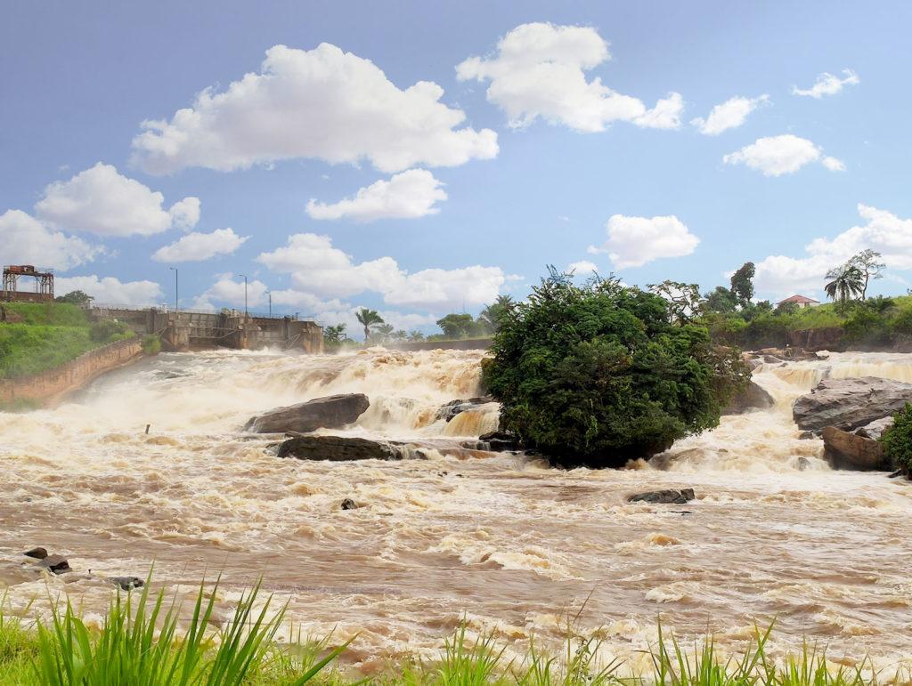 Barrage de Sanga, dans le Kongo Central, RDC