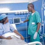 Chambre de soins intensifs, CMC Lubumbashi, RD Congo.