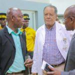 Dr Kabeya et Dr Michel au CMC