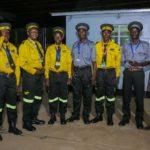 Le personnel de sécurité du CMC