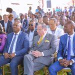 Cérémonie d'inauguration du CMC à Lubumbashi en présence de George A. Forrest, président du Groupe Forrest.