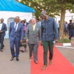 Le Vice-Gouverneur du Haut-Katanga, Jean-Claude Kamfwa, George A. Forrest et Patrick William