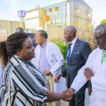 Arrivée des invités au CMC de Lubumbashi