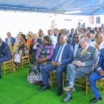 Invités lors de l'inauguration du CMC à Lubumbashi
