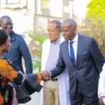 Arrivée des invités lors de l'inauguration du CMC à Lubumbashi