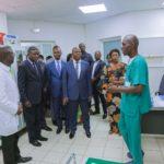 Salles des urgences du CMC, Lubumbashi