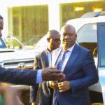 Arrivée du Vice-Gouverneur du Haut-Katanga