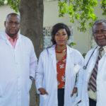 Equipe de médecins du CMC, Lubumbashi, RD Congo.