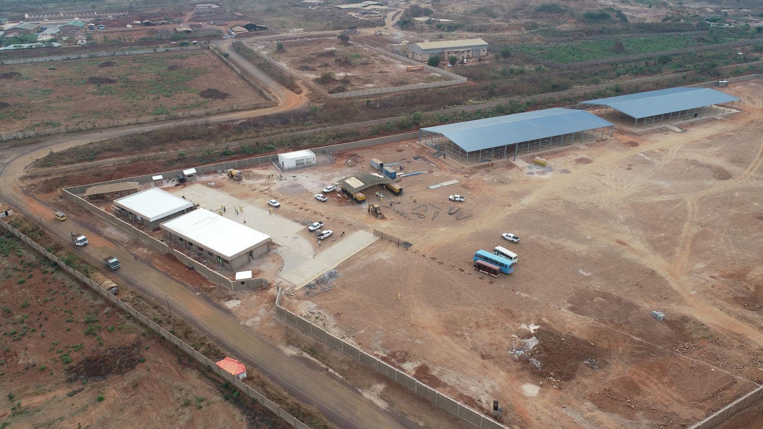 Construction d'un centre logistique Cargo Congo