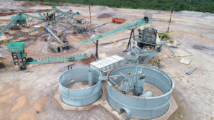 Construction of a crushing plant in Kolwezi, DR Congo