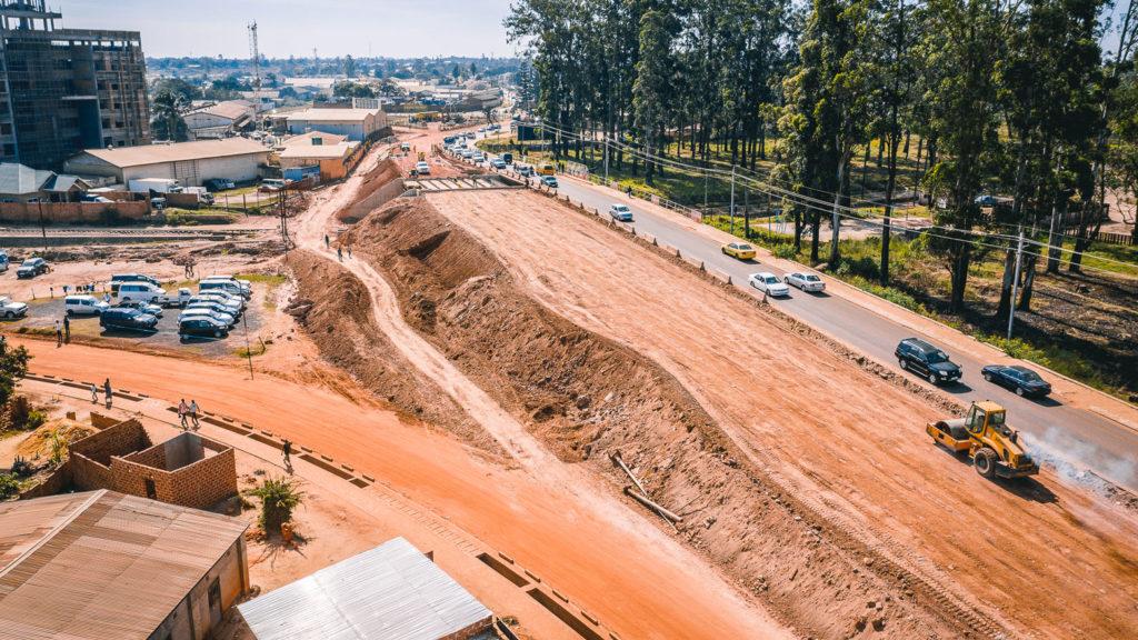 Travaux d'élargissement du pont SNCC à Kolwezi, RDC