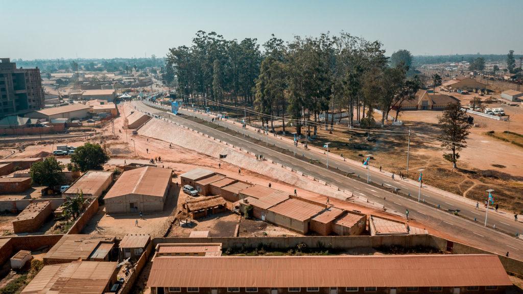 A Kolwezi, Pont Kabila-Tshisekedi/Pont de l'Alternance pacifique.