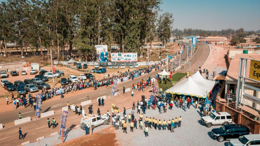 Inauguration Pont Kabila-Tshisekedi/Pont de l'Alternance pacifique après travaux