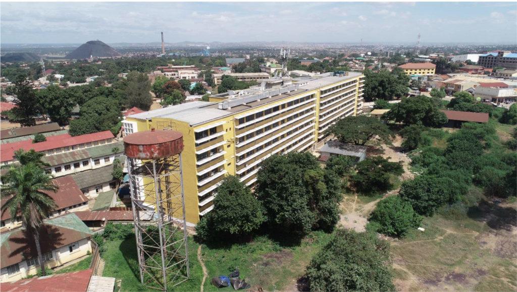 A Lubumbashi, l'hôpital Sendwe après travaux de rénovation